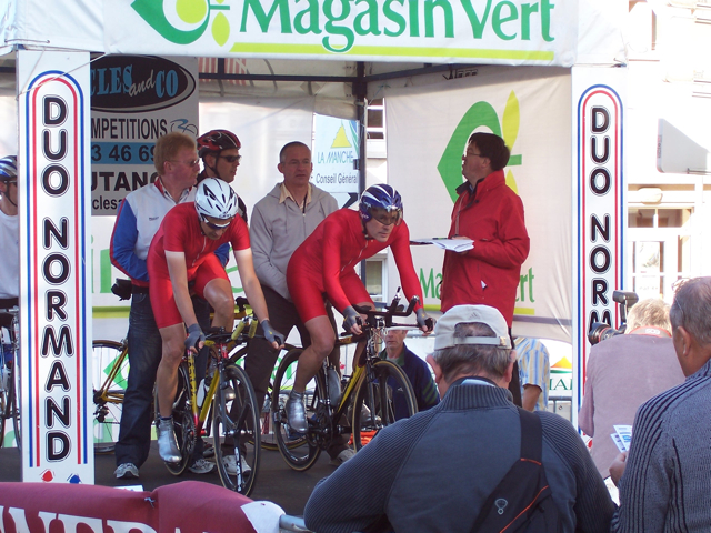 On the start ramp 2008